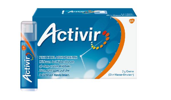 Activir Plus Creme Pumpdispenser 2g