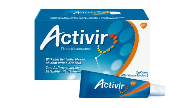 Activir Plus Creme Tube 2g